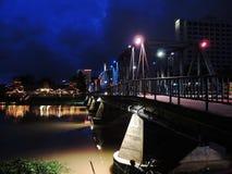 Ponte do ferro em Chiang Mai Imagem de Stock Royalty Free