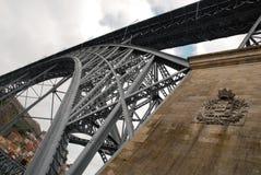 A ponte do ferro em Porto em Portugal Imagem de Stock Royalty Free