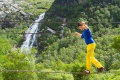Ponte do fio em Glen Nevis Imagens de Stock Royalty Free