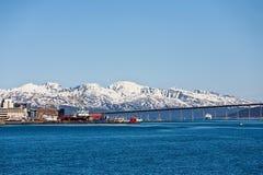 Ponte do Fjord fotografia de stock