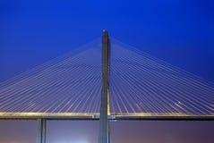 Ponte do Gama de Vasco a Dinamarca, a ponte a mais grande de Europa Fotos de Stock