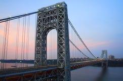 Ponte do GW de NJ Foto de Stock Royalty Free