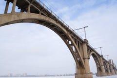 Ponte do inverno fotos de stock