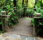 Ponte do jardim Imagens de Stock Royalty Free