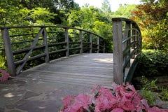 Ponte do jardim Fotos de Stock