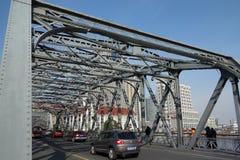 Ponte do jardim de Shanghai imagem de stock royalty free