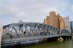 A ponte do jardim em Shanghai Fotografia de Stock Royalty Free