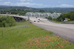Ponte do lago inks Imagens de Stock Royalty Free