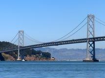 A ponte do louro de San Francisco-Oakland Imagens de Stock