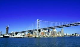 Ponte do louro e baixa de SF imagem de stock royalty free