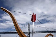 Ponte do louro, San Francisco Foto de Stock