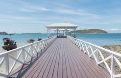 Ponte do mar Imagens de Stock