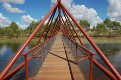 Ponte do metal Fotografia de Stock Royalty Free