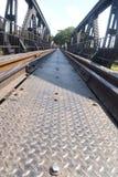 Ponte do metal Fotografia de Stock