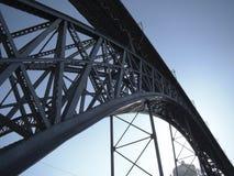 Ponte do metal Fotos de Stock