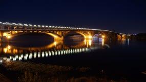Ponte do metro Imagens de Stock
