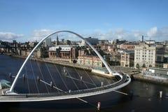 Ponte do milênio Fotografia de Stock