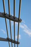 Ponte do milênio Foto de Stock Royalty Free