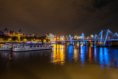 Ponte do milênio de Londres Imagem de Stock Royalty Free