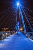 Ponte do milênio de Londres Fotografia de Stock