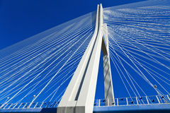 Ponte do milênio no Wroclaw fotos de stock
