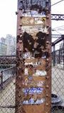Ponte do norte de envelhecimento da avenida Foto de Stock Royalty Free