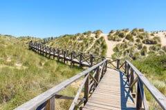 Ponte do pé em Cala Mesquida - costa da ilha Mallorca, Espanha Fotografia de Stock