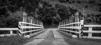 Ponte do país Imagem de Stock