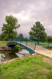 Ponte do parque Imagem de Stock Royalty Free
