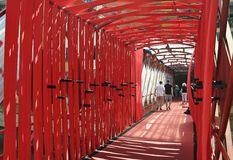 Ponte do Peixateries Velles fotos de stock royalty free
