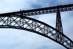 Ponte do Pia de Maria - o Porto Imagens de Stock Royalty Free