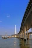 Ponte do porto fotografia de stock royalty free