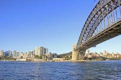 Ponte do porto Imagem de Stock Royalty Free