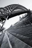 Ponte do porto Fotos de Stock