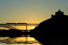 Ponte do Porto D. Luis foto de stock