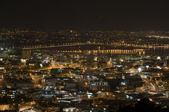 Ponte do porto de Auckland Fotos de Stock