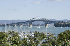 Ponte do porto de Auckland Fotografia de Stock