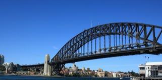 Ponte do porto de Sydney e de porto de Sydney fotografia de stock royalty free