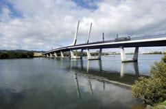 Ponte do porto de Whangarei - Nova Zelândia Imagens de Stock Royalty Free