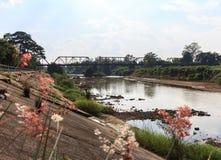 A ponte do rio Foto de Stock Royalty Free