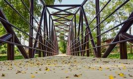 Ponte do rio Imagem de Stock