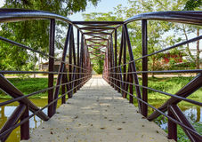 Ponte do rio Imagem de Stock Royalty Free
