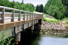 Ponte do rio Foto de Stock