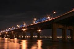 Ponte do rio de Han Imagens de Stock