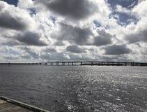 Ponte do rio de Neuse Imagem de Stock Royalty Free