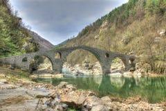 A ponte do ` s do diabo em Bulgária imagens de stock royalty free
