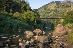 Ponte do ` s do tolo da ponte de Ulapane, Sri Lanka Foto de Stock Royalty Free