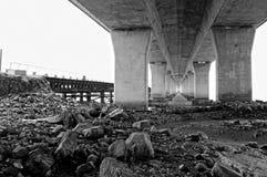 Ponte do Sea-crossing Foto de Stock Royalty Free