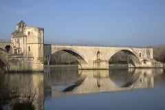 Ponte do St Benezet, Avignon Fotos de Stock