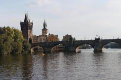 Ponte do St Charlies Imagem de Stock Royalty Free